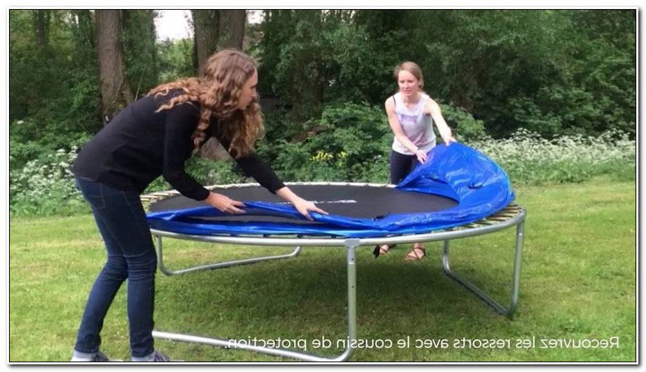 Happy Garden Trampoline