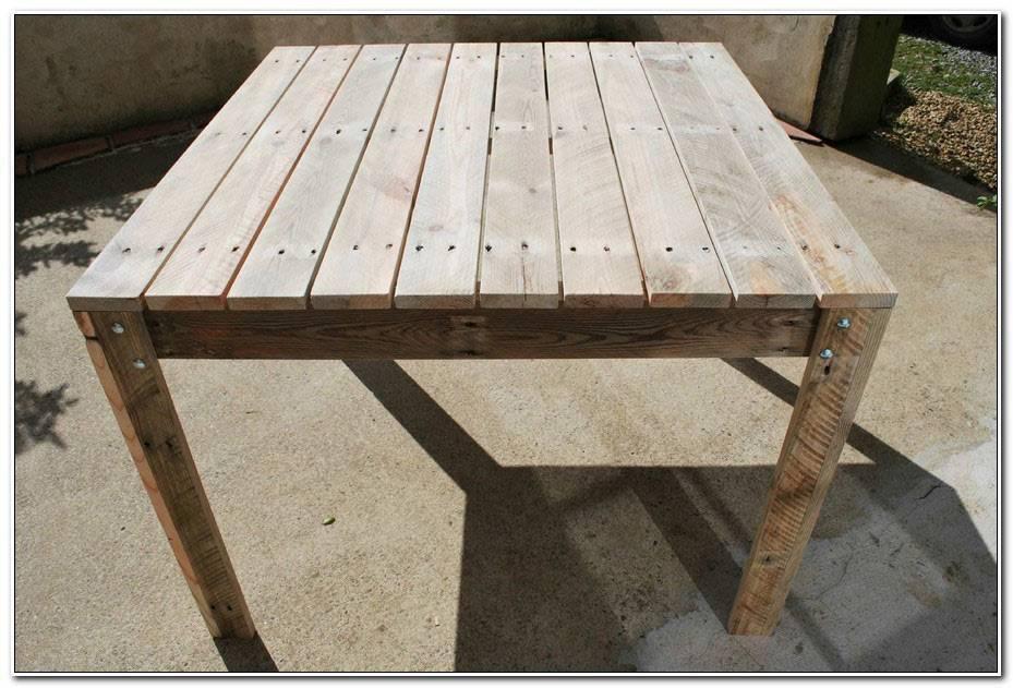 Hauteur Table De Jardin