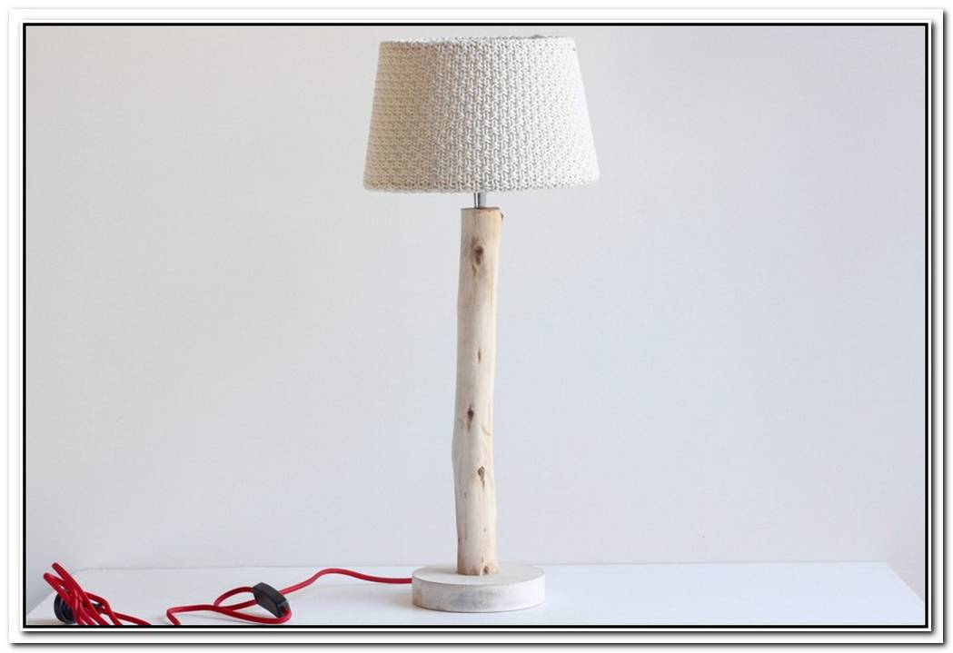 Hector Bibendum Red Cord Table Lamp