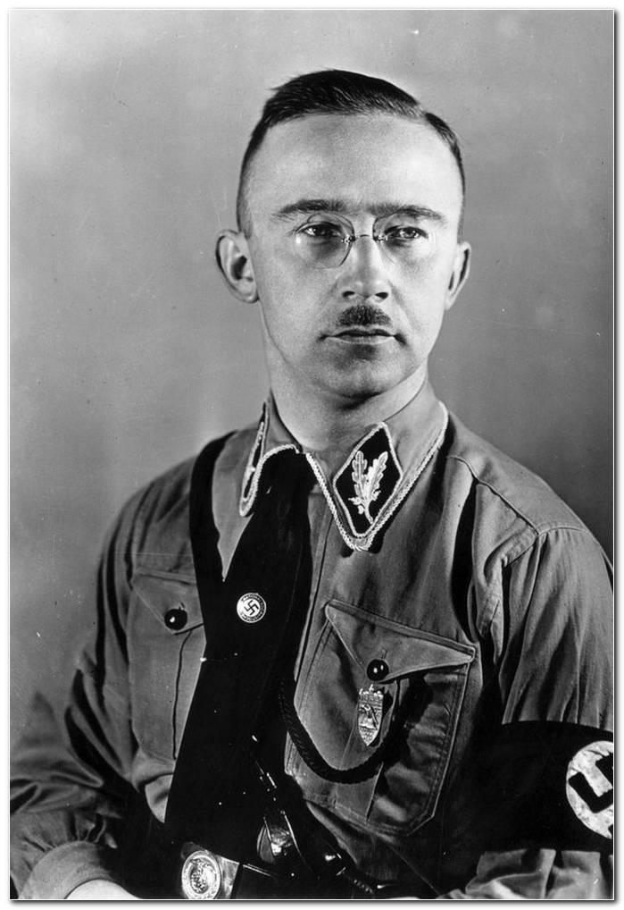Heinrich Himmler Frisur