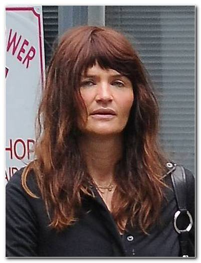 Helena Christensen Frisuren