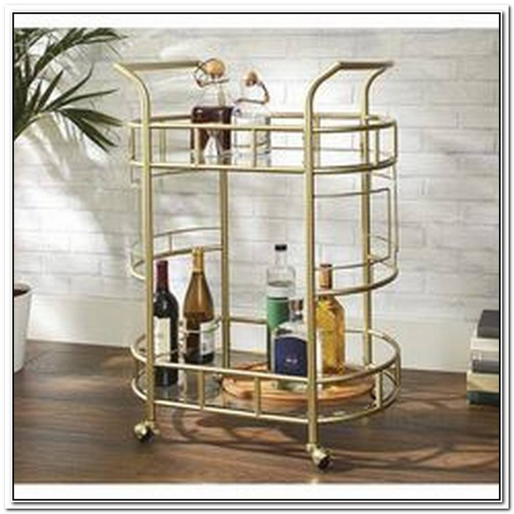 Here Are 16 Perfect Items For Creating A Bar Cart