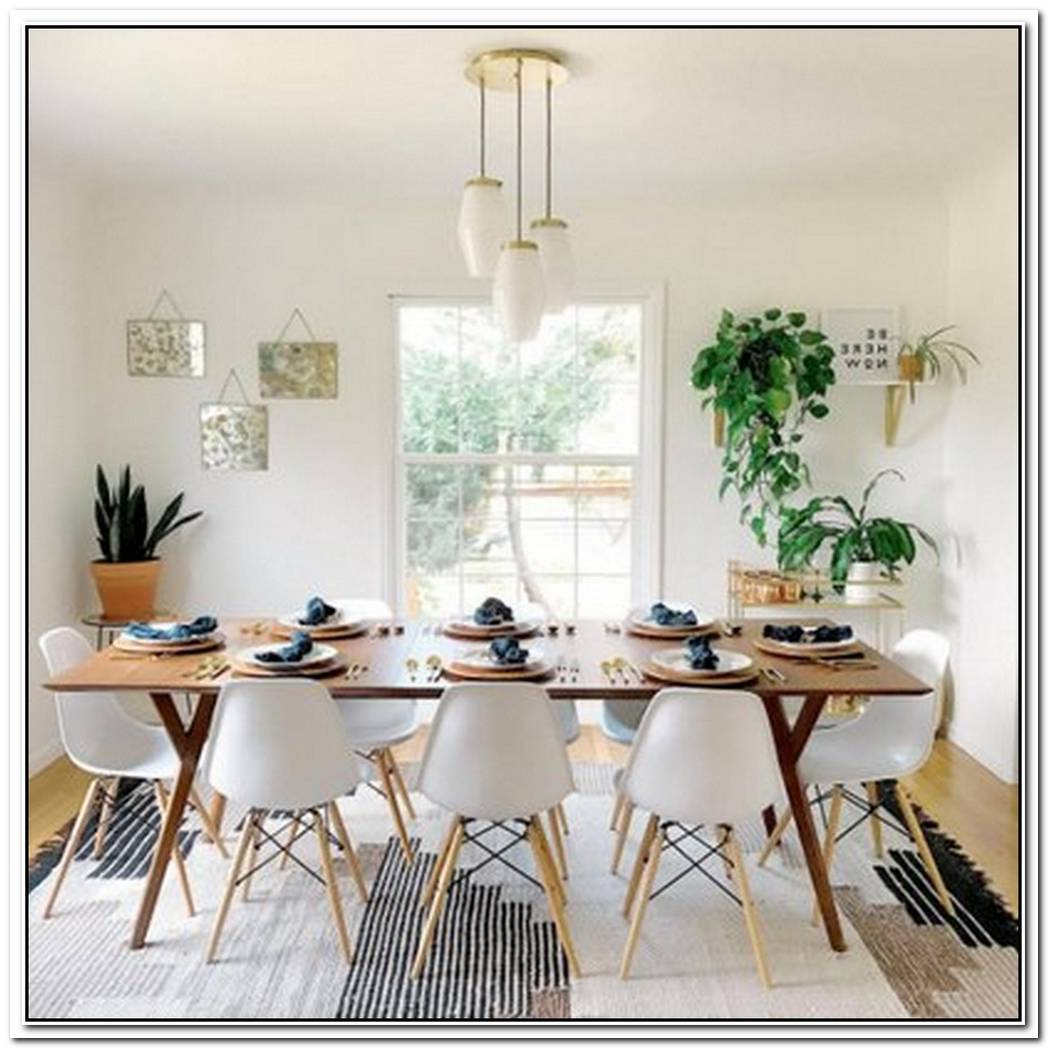 Here'S Why You Should Create An All White Dining Room Before The Holidays