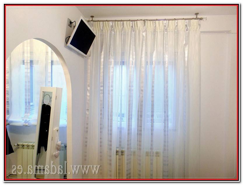 Hermoso Barra Extensible Cortina Galería De Cortinas Decorativo
