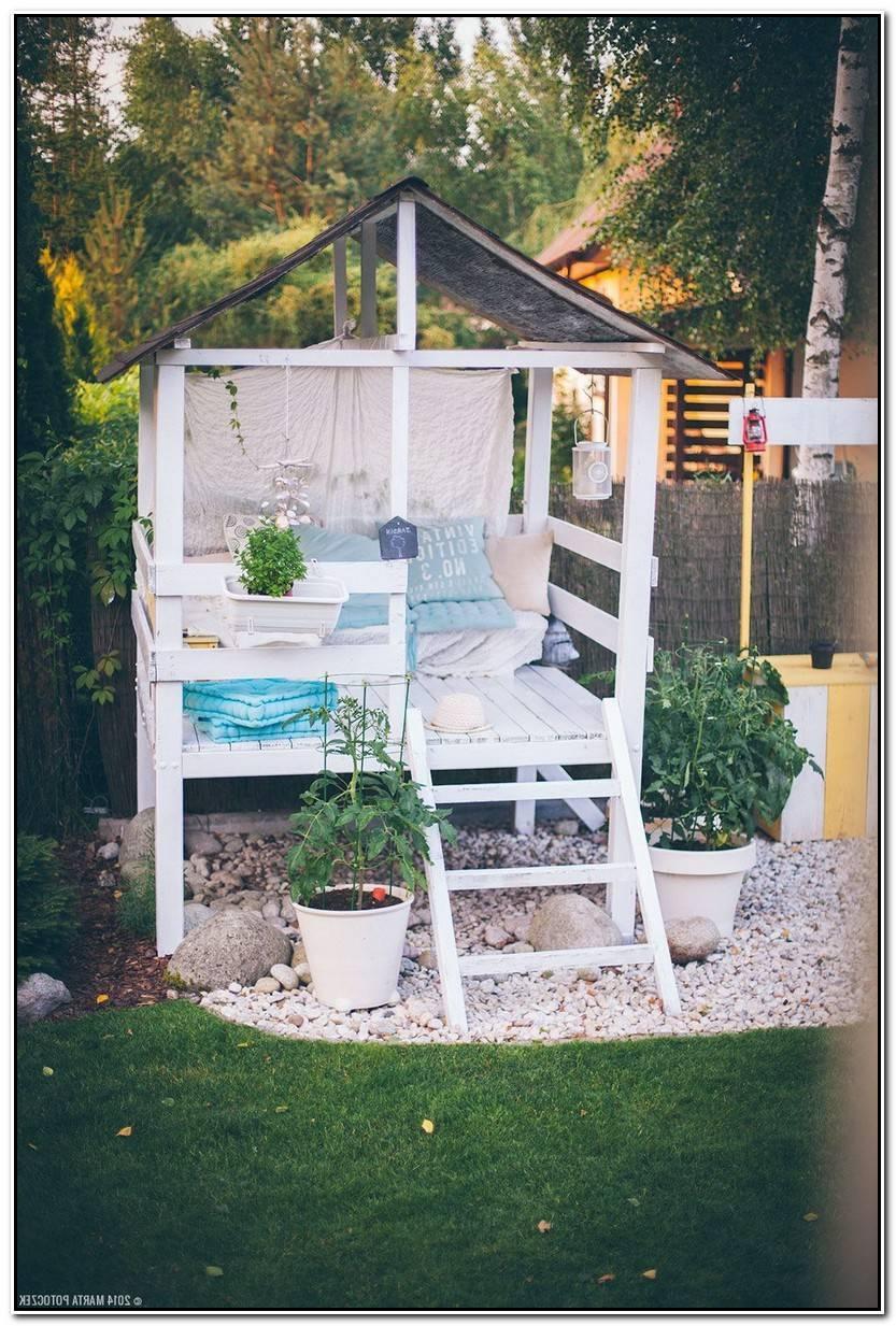 Hermoso Casitas Niños Jardin Imagen De Jardín Decoración