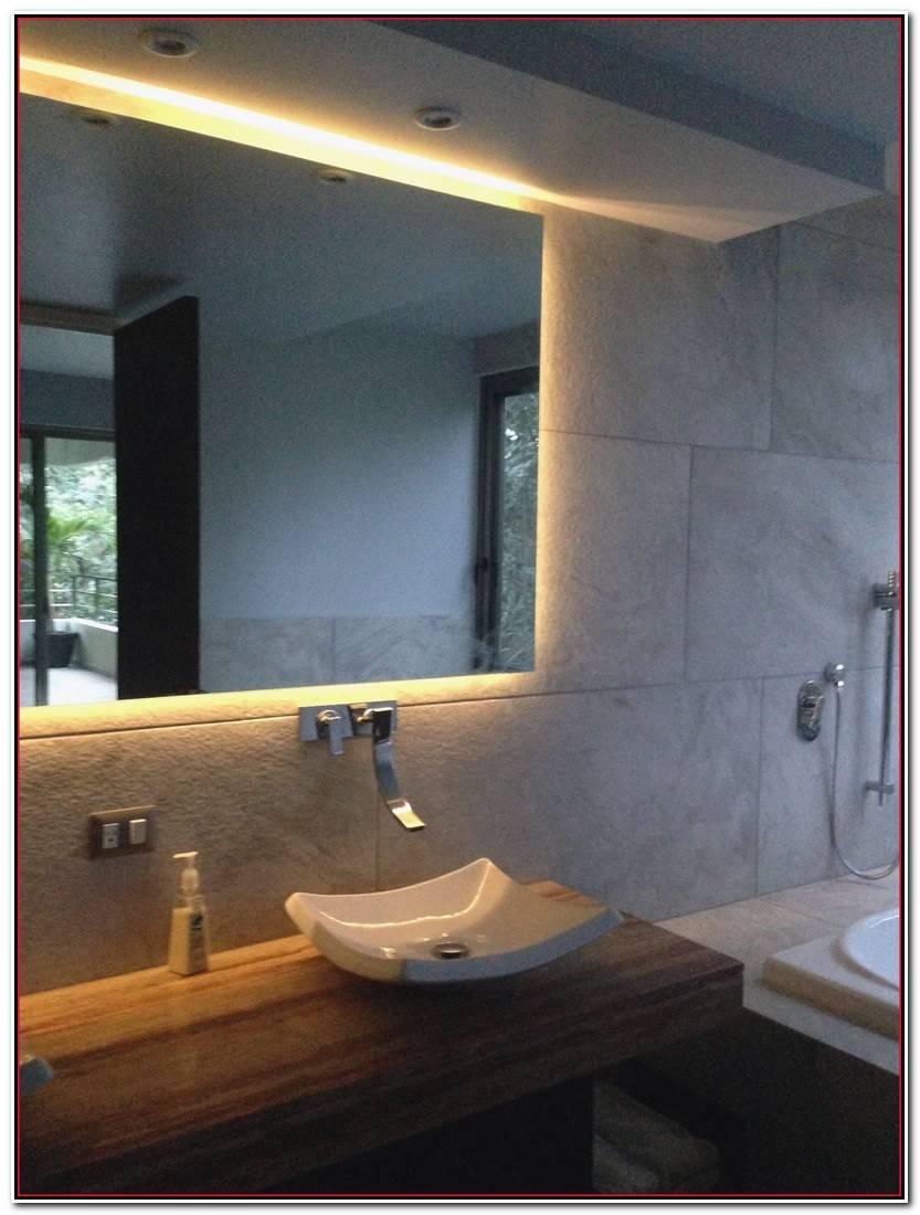 Hermoso Espejo De Baño Con Luz Imagen De Baños Ideas
