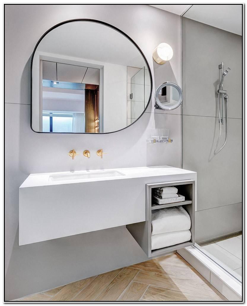 Hermoso Espejo Redondo Baño Galería De Baños Ideas