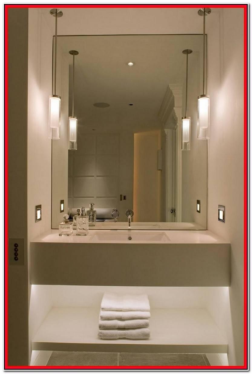 Hermoso Focos Espejo Baño Fotos De Baños Decorativo