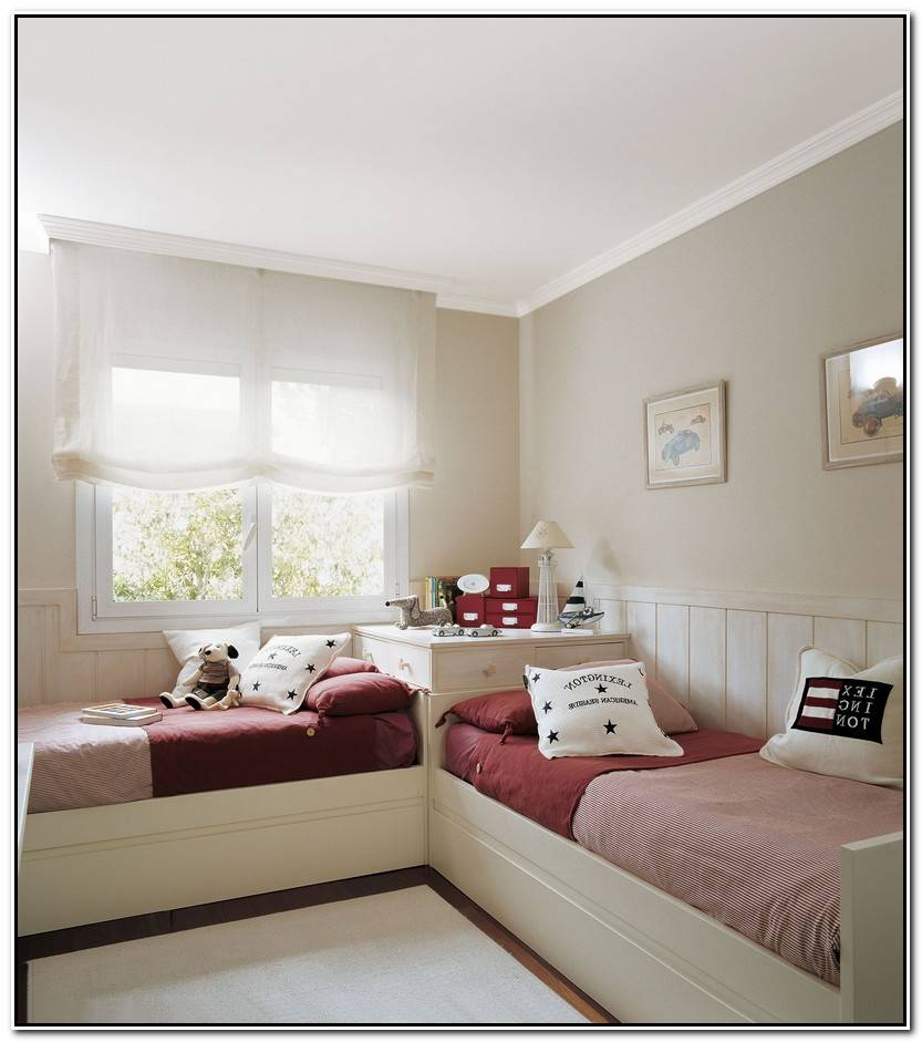 Hermoso Habitaciones Infantiles Dobles Galería De Habitaciones Ideas