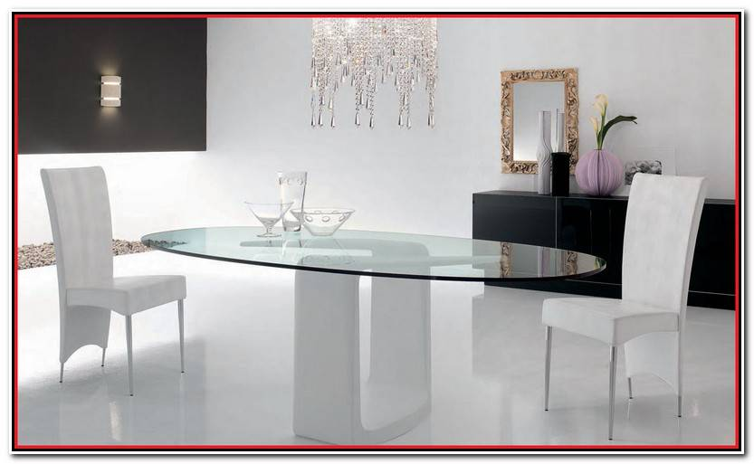 Hermoso Mesa Salon Cristal Extensible Fotos De Mesas Ideas