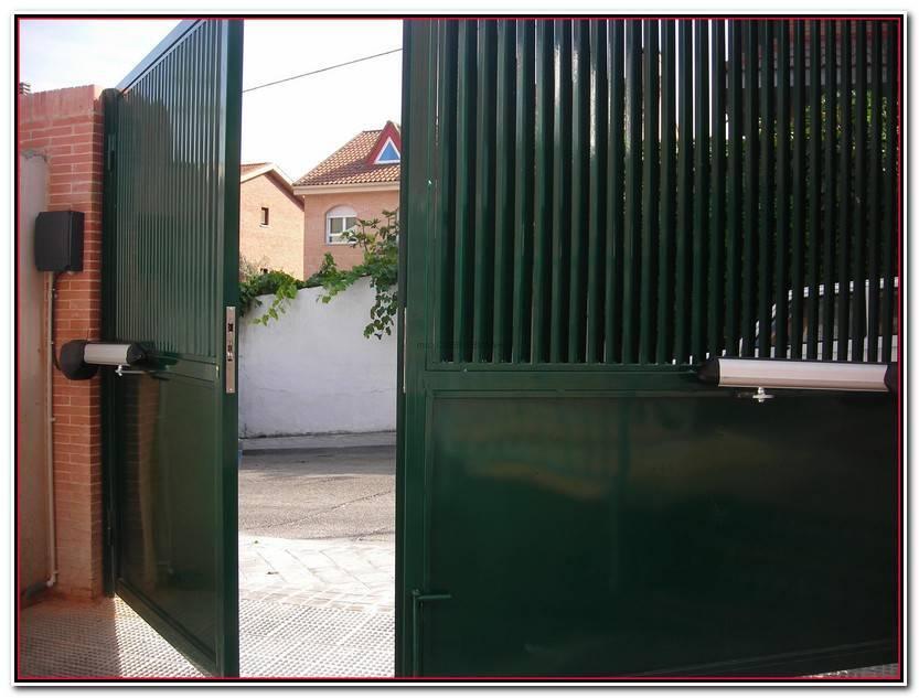 Hermoso Motor Puerta Abatible Colección De Puertas Estilo