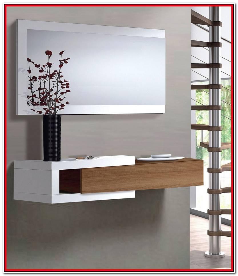 Hermoso Mueble Entrada Recibidor Colección De Muebles Decoración