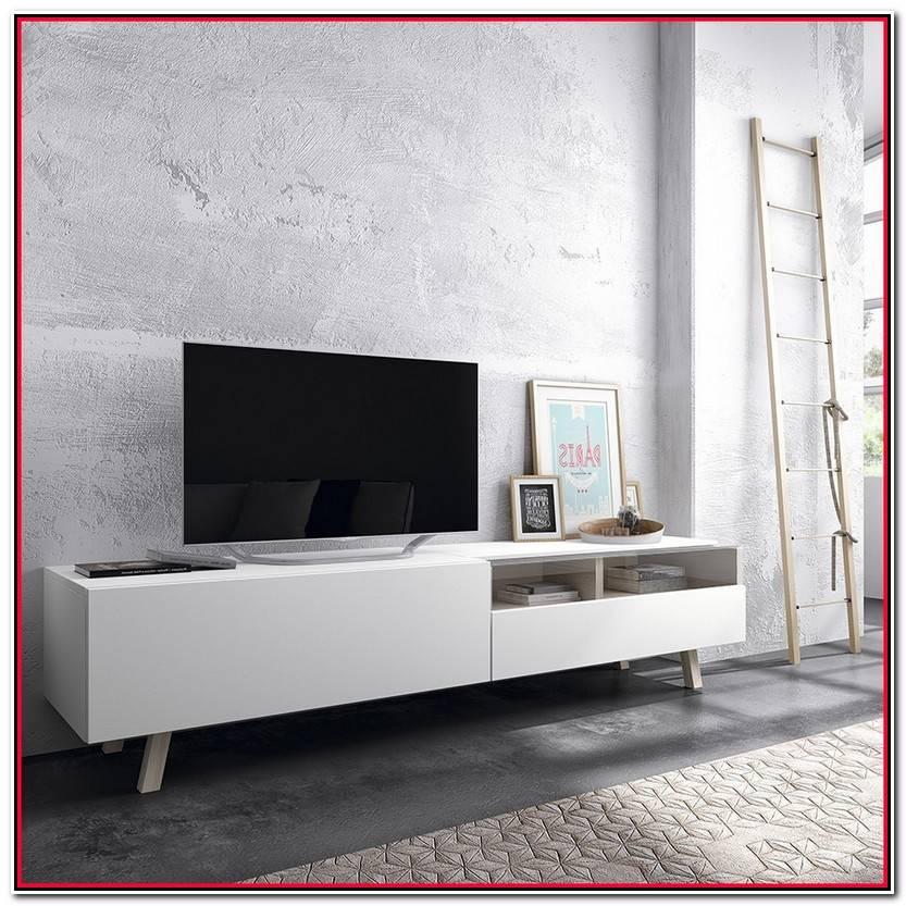 Hermoso Mueble Tv Blanco Colección De Muebles Estilo