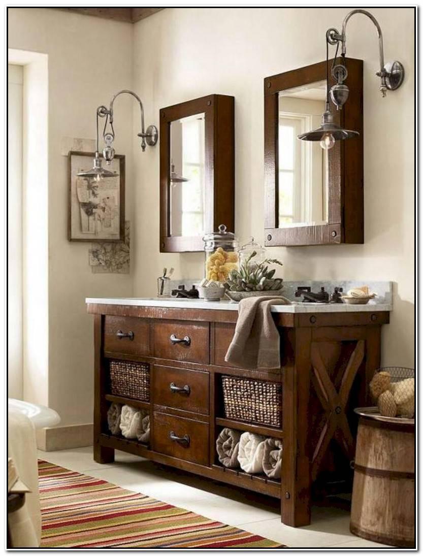 Hermoso Muebles Antiguos Para Baños Imagen De Baños Ideas