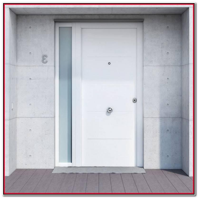 Hermoso Puerta Blindada Exterior Blanca Colección De Puertas Decoración