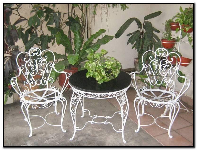 Hermoso Sillas De Hierro Para Jardin Colección De Jardín Decorativo