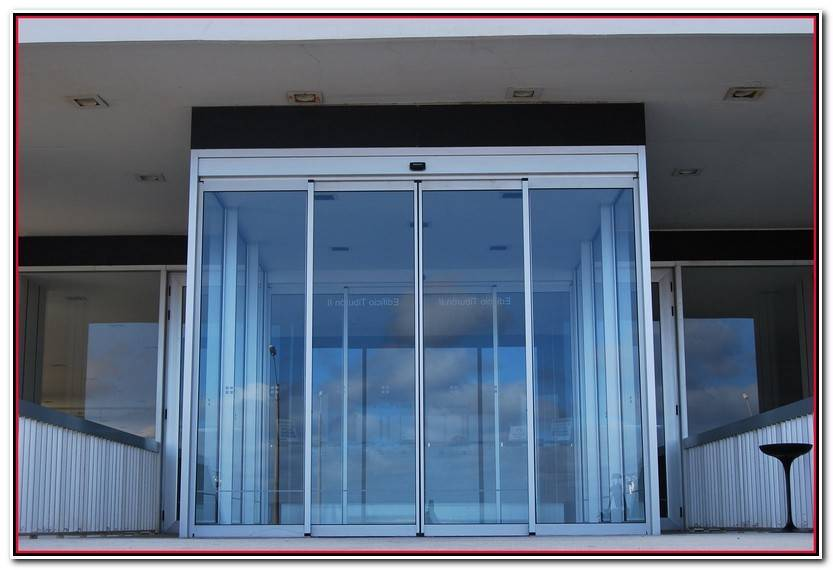 Hermoso Sistema De Puertas Automaticas Corredizas Fotos De Puertas Accesorios