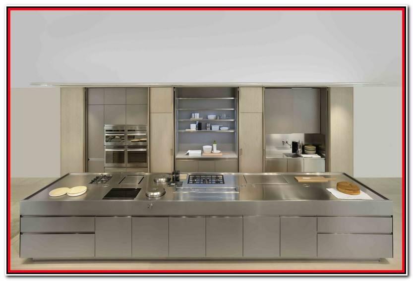 Hermoso Utensilios De Cocina De Titanio Imagen De Cocinas Estilo