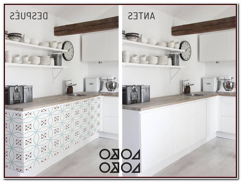 Hermoso Vinilos Para Muebles De Cocina Imagen De Cocinas Accesorios