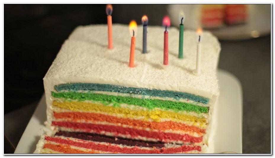 Hervé Cuisine Rainbow Cake