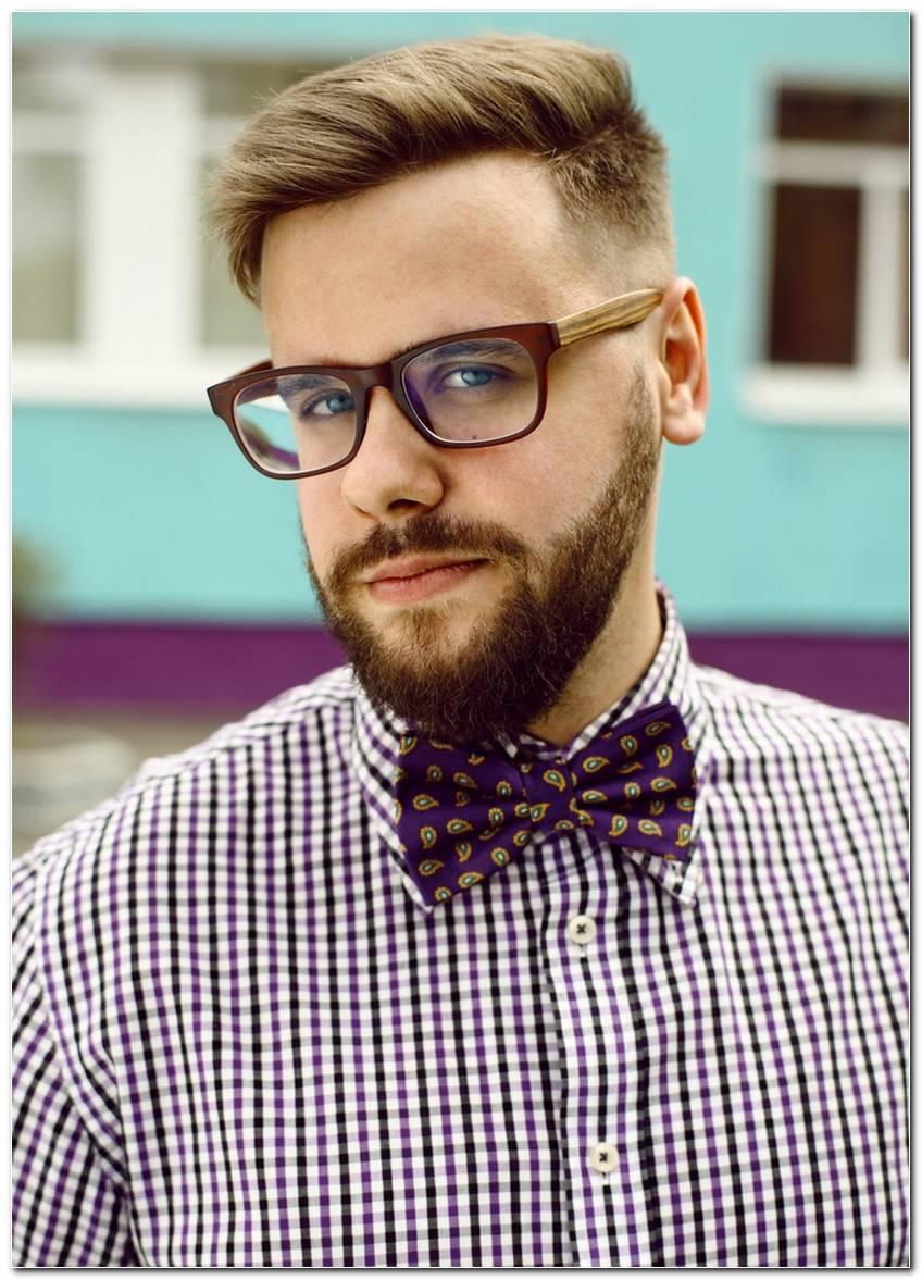 Hipster Frisur Mit Bart