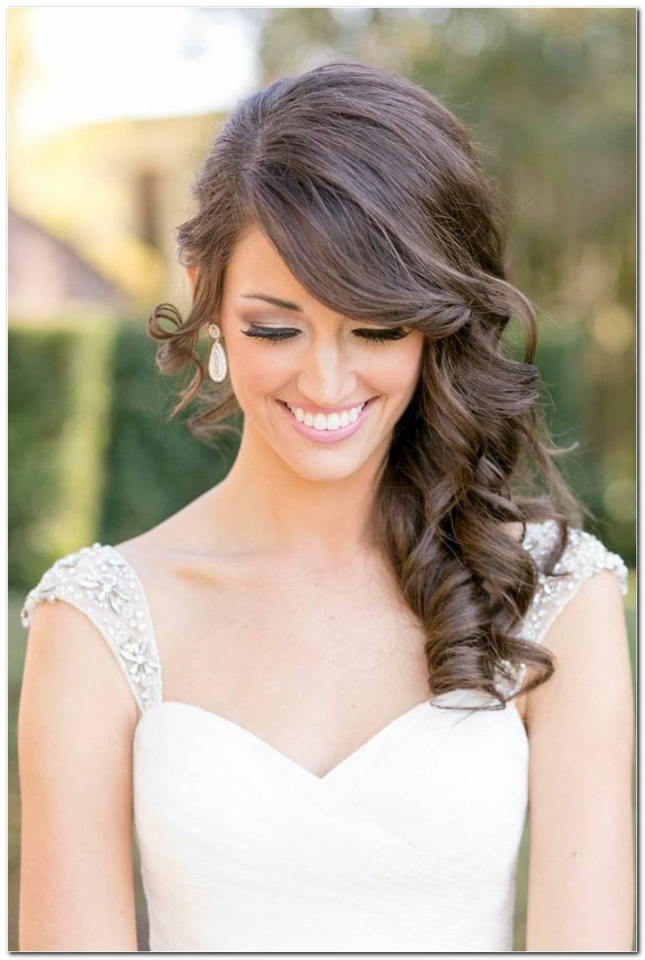 Hochzeit Frisuren Halb Hochgesteckt
