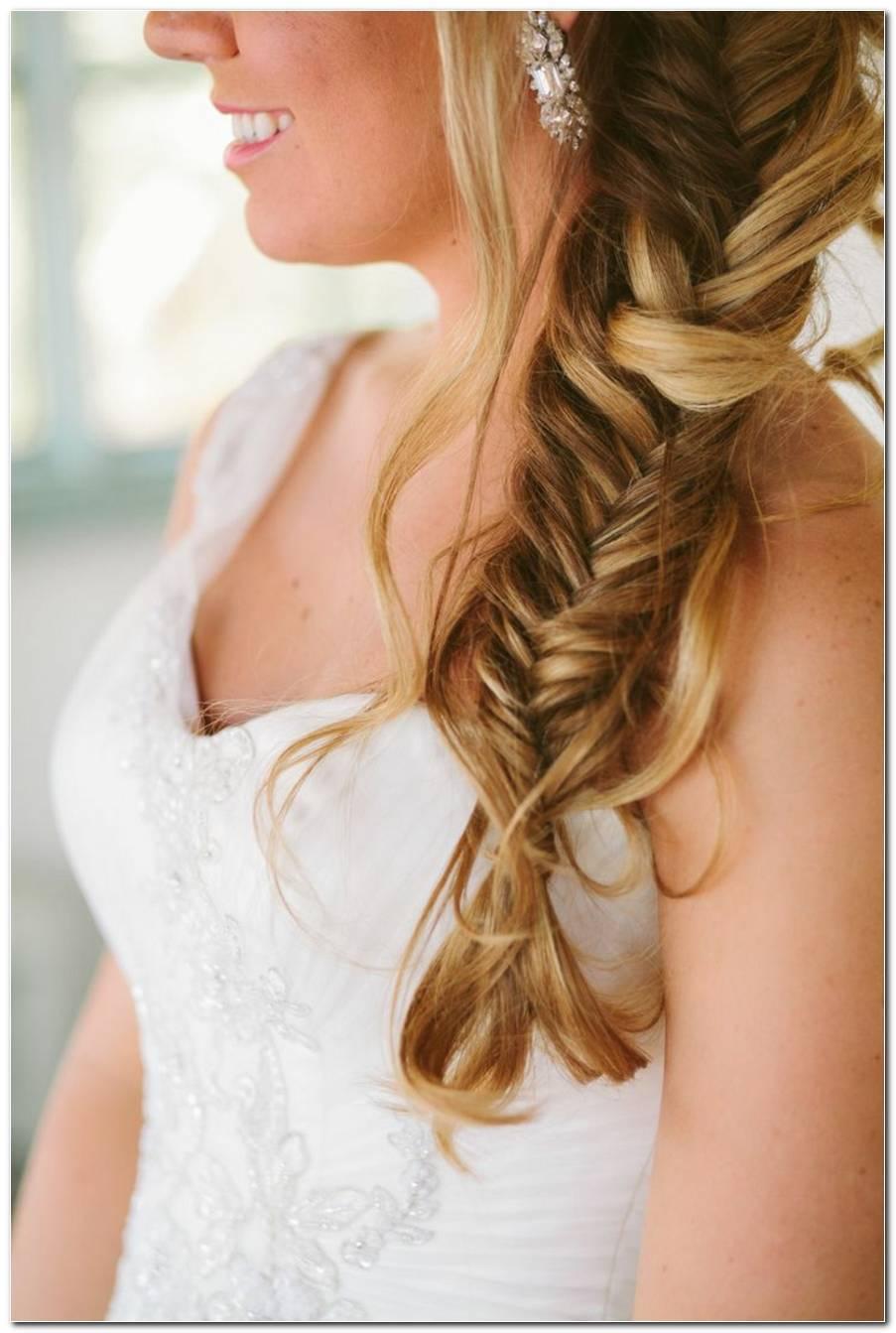 Hochzeit Frisuren Mit Zopf