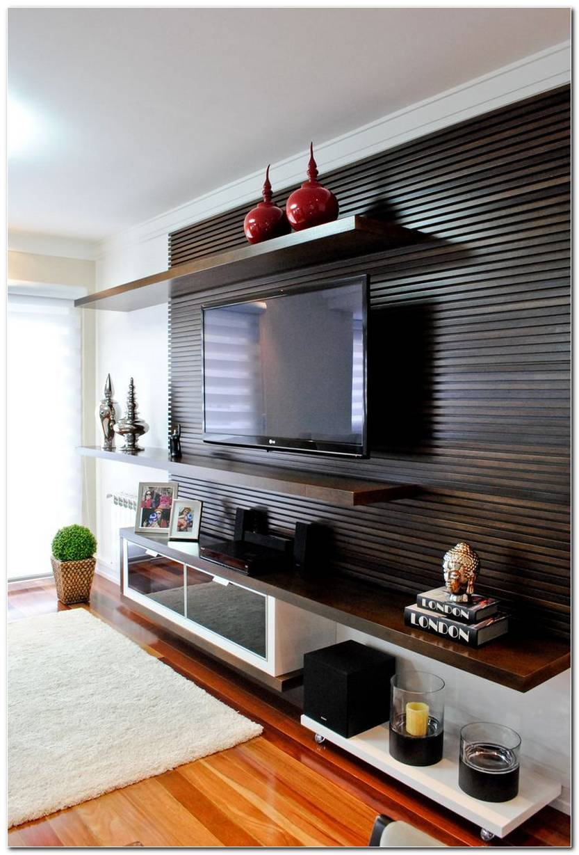 Home Com Painel Sala De Tv