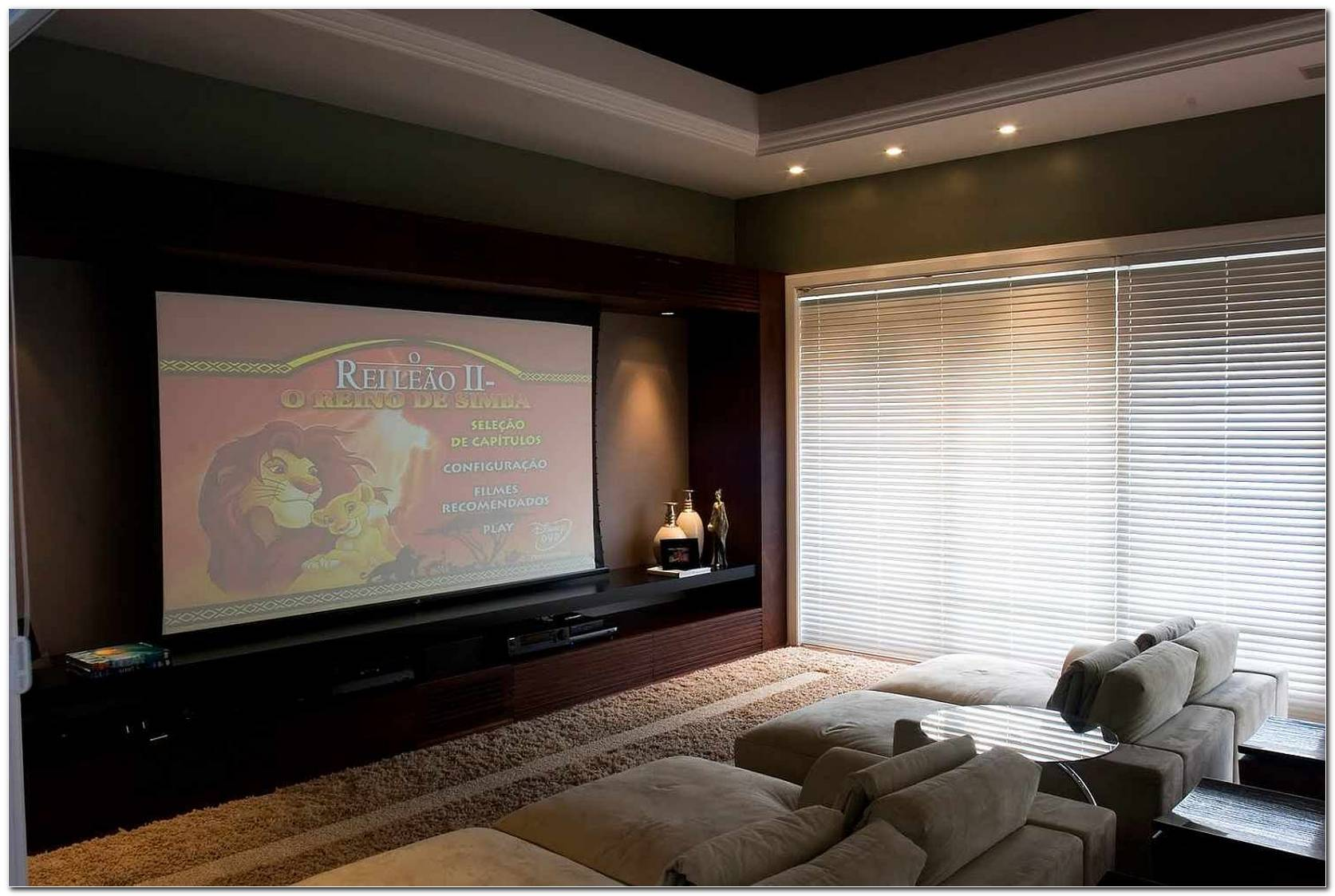 Home Theater Na Sala De Tv