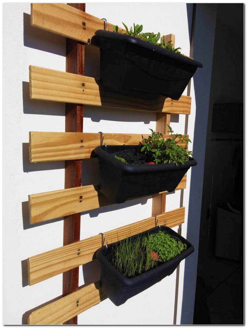 Horta Vertical Suspensa 60 Projetos E Passo A Passo