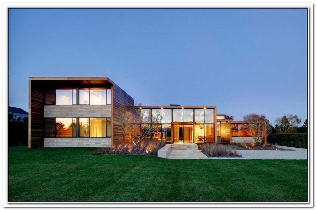 Housing Where The Nature Met The Modern At The Pryor Residence By Bates Masi Architects