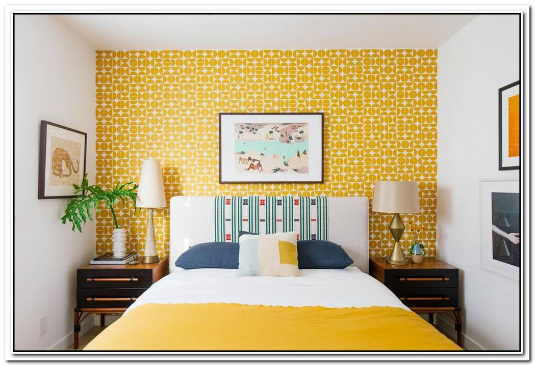 How Society6'S Removable Wallpaper Made My Guest Room Pop