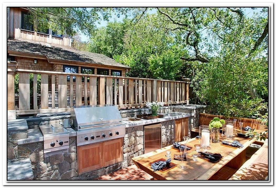How To Design The Perfect Outdoor Kitchen That Lets You Party