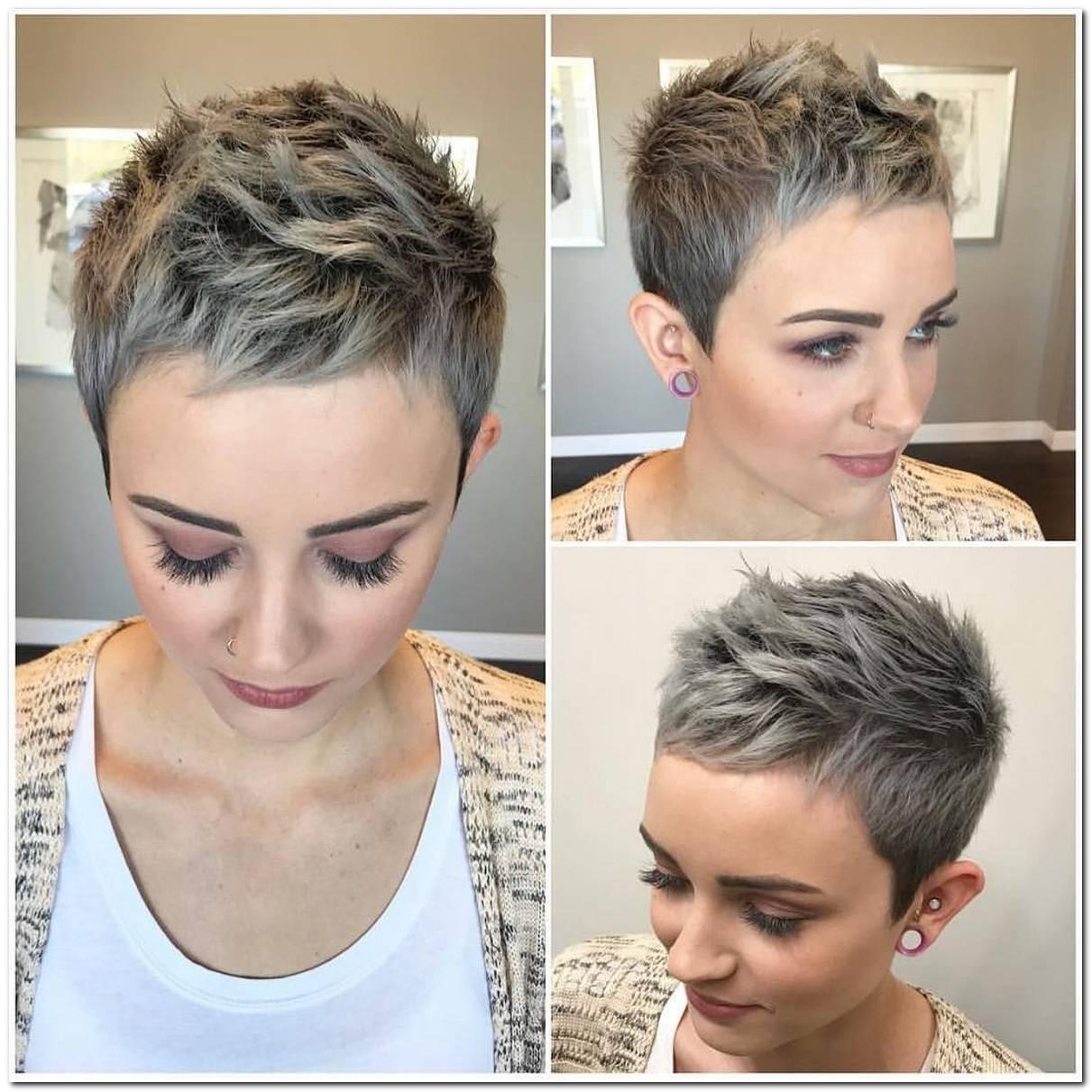 Htundercut Frisuren Frau Kurze Haare