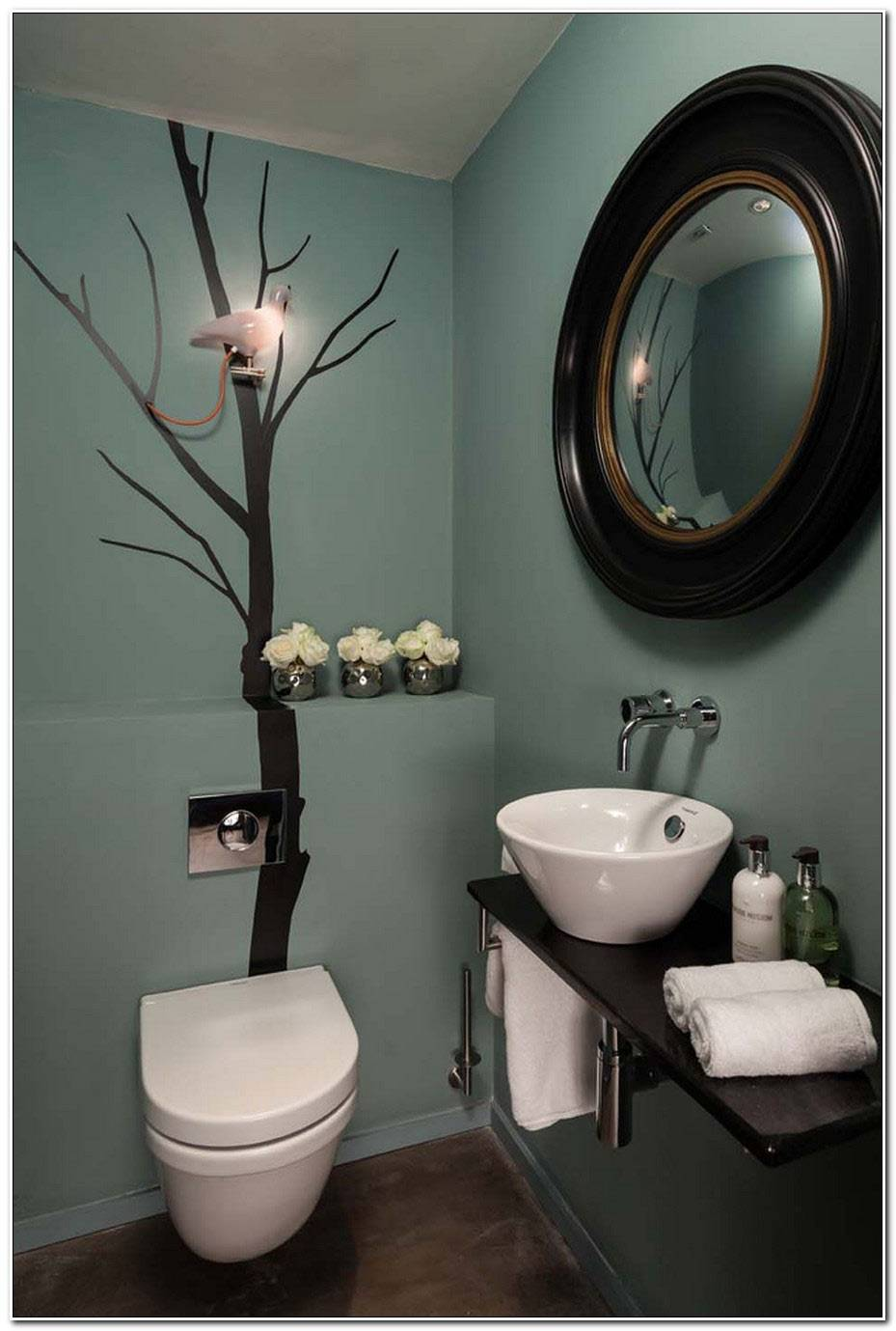 Idee Deco Wc Moderne
