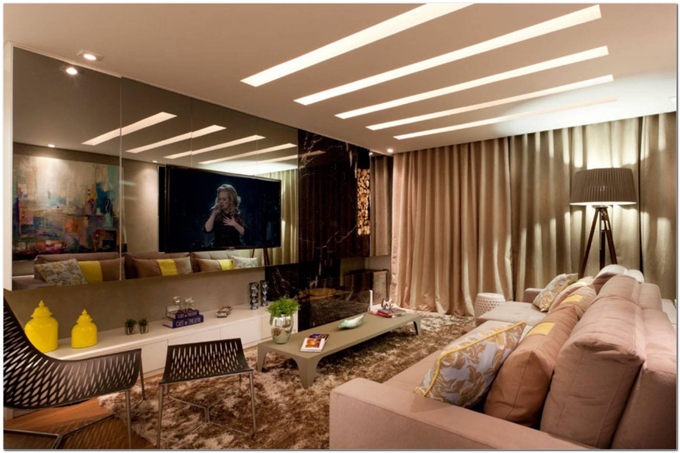 Ideias Criativas Para Sala De Tv