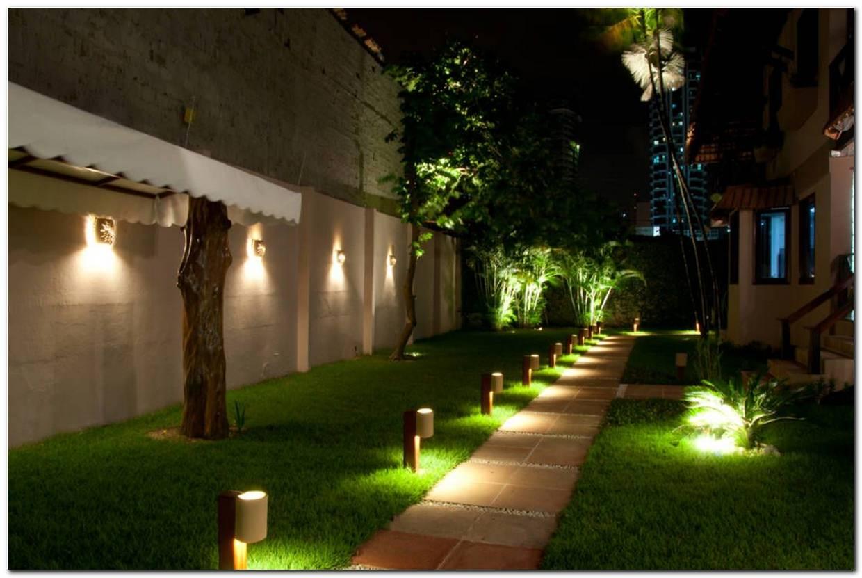 Iluminacao Para Jardins Residenciais
