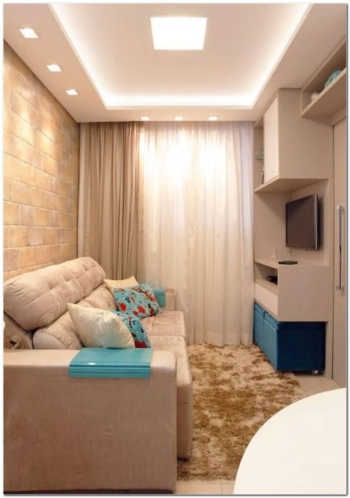 Iluminacao Sala De Estar Pequena