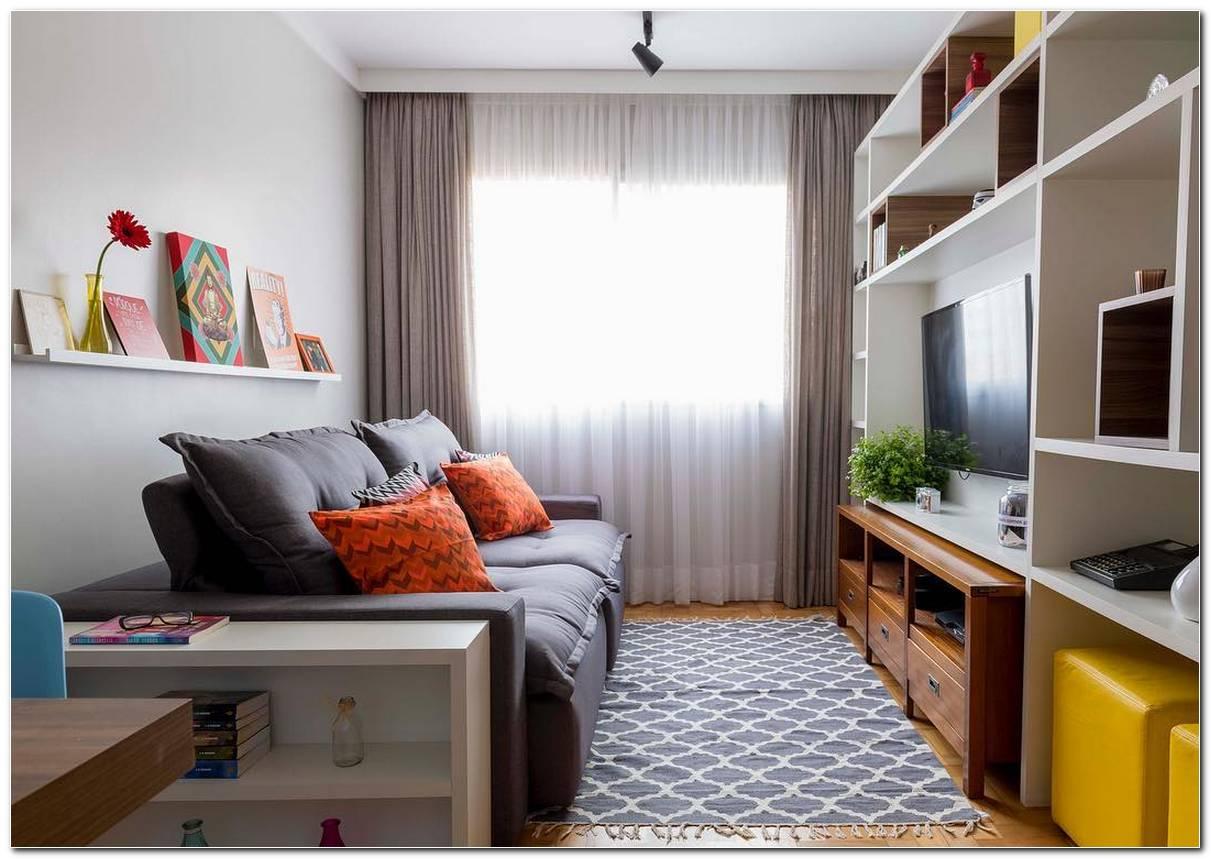 Imagens De Sala De Estar Pequena E Decorada