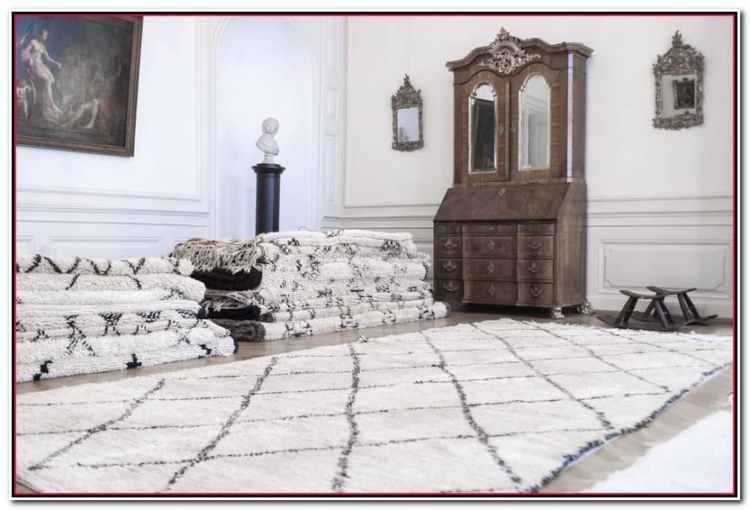 Impresionante Beni Ourain Alfombras Imagen De Alfombra Decoración