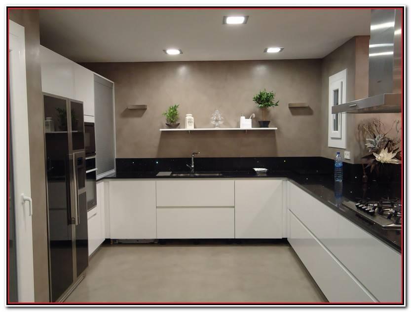 Impresionante Microcemento En Cocinas Fotos De Cocinas Decorativo