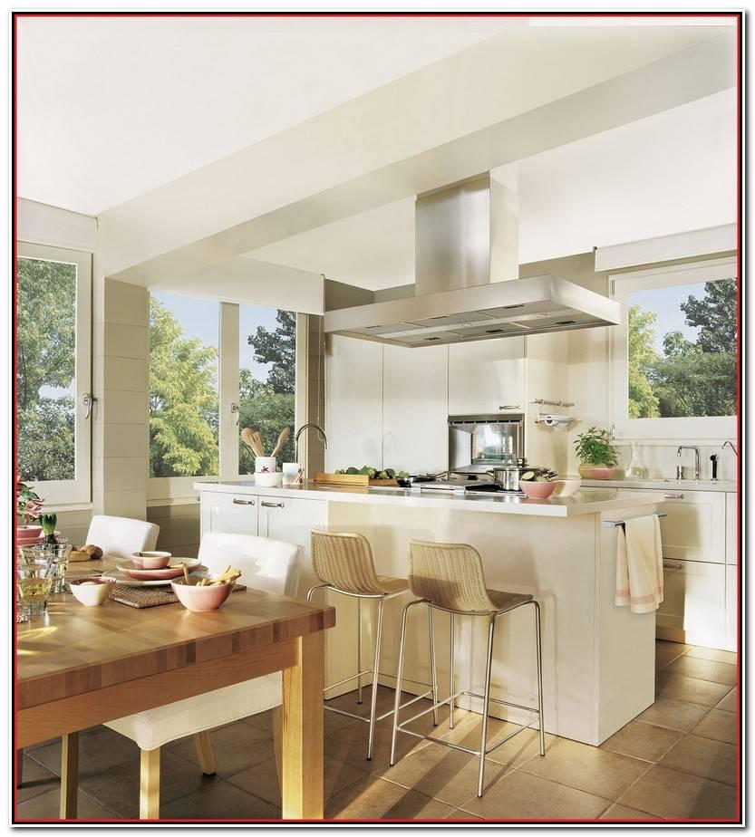 Impresionante Sillas Cocina Blancas Fotos De Cocinas Idea