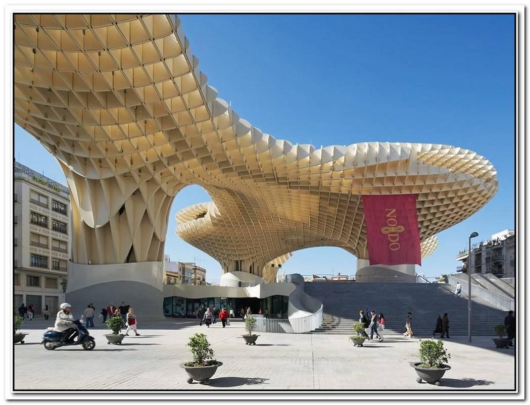 Impressive Metropol Parasol In Spain