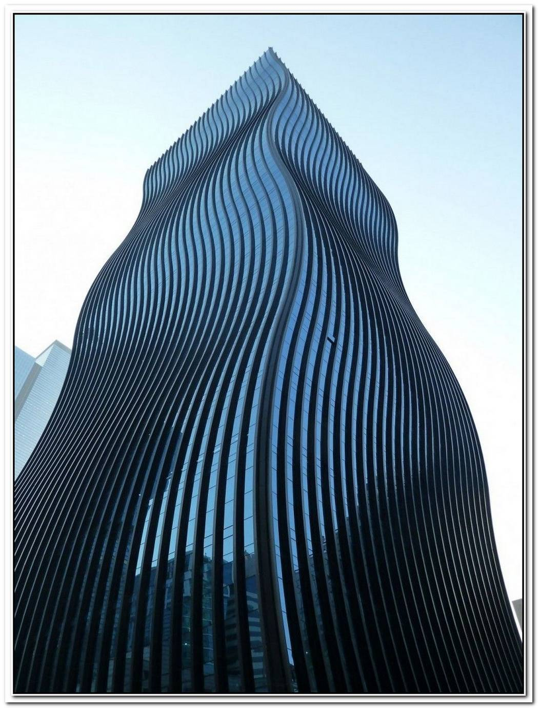 Impressive Office Tower With Undulating Glass Façade In Seoul