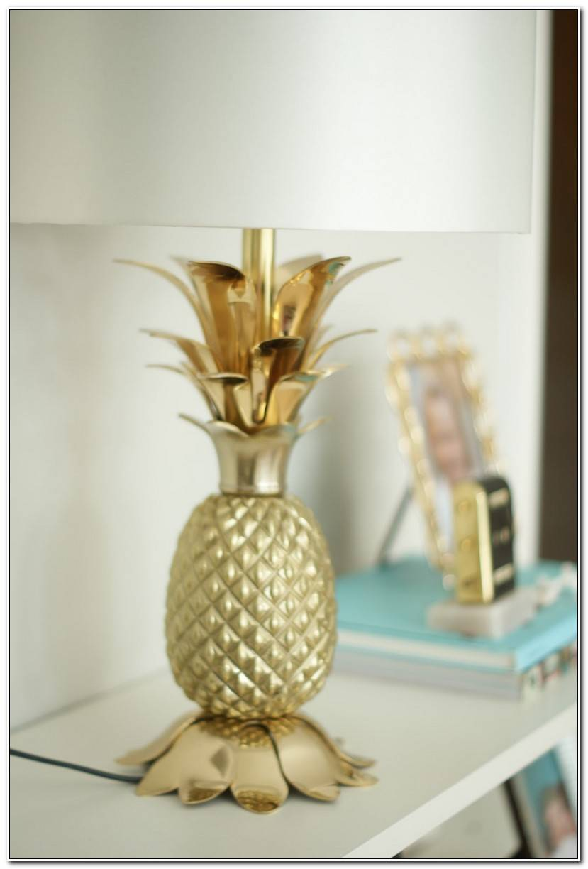 In Ananas Lampe
