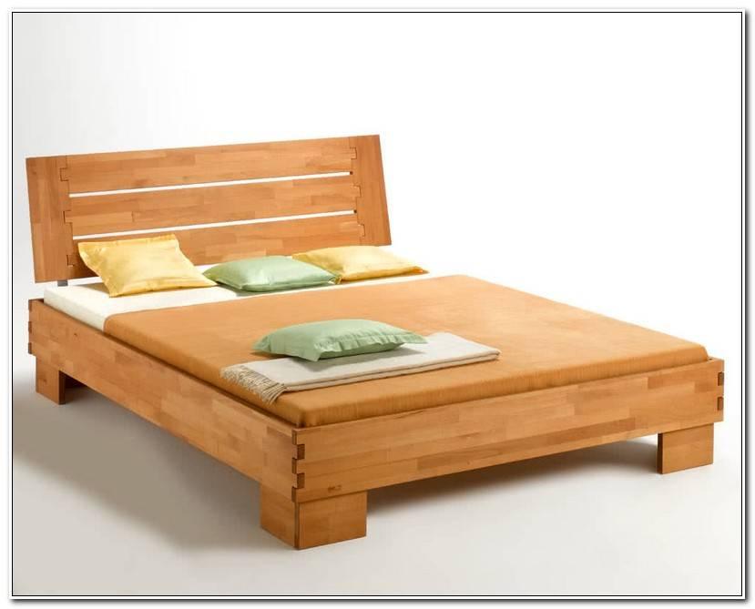 In Bett Buche