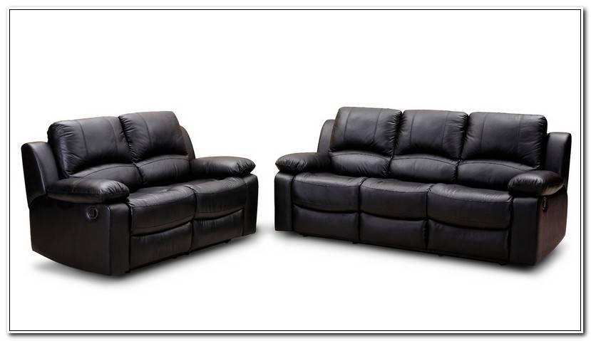 In Echtleder Couch