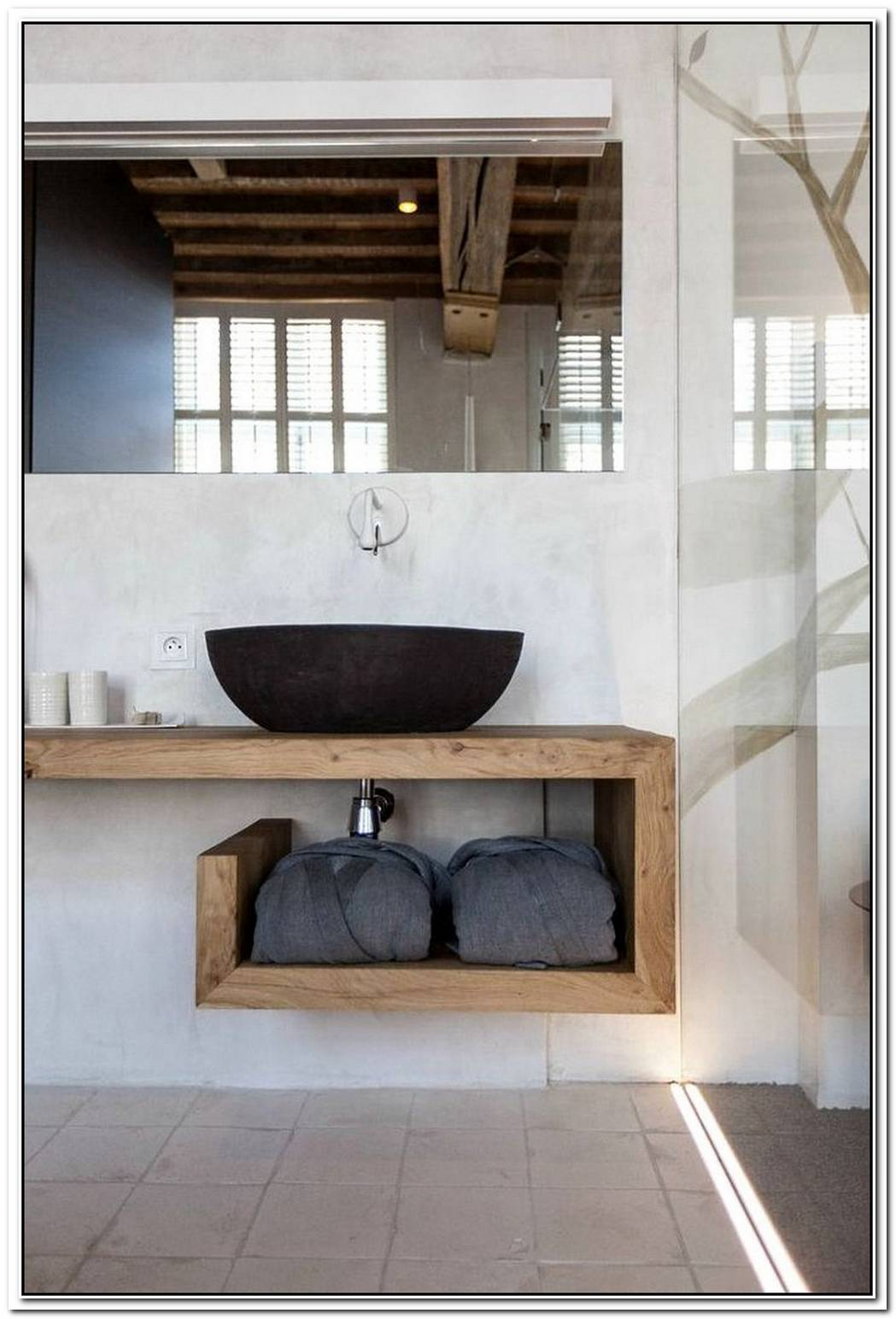 Industrial Bathroom Small Modern