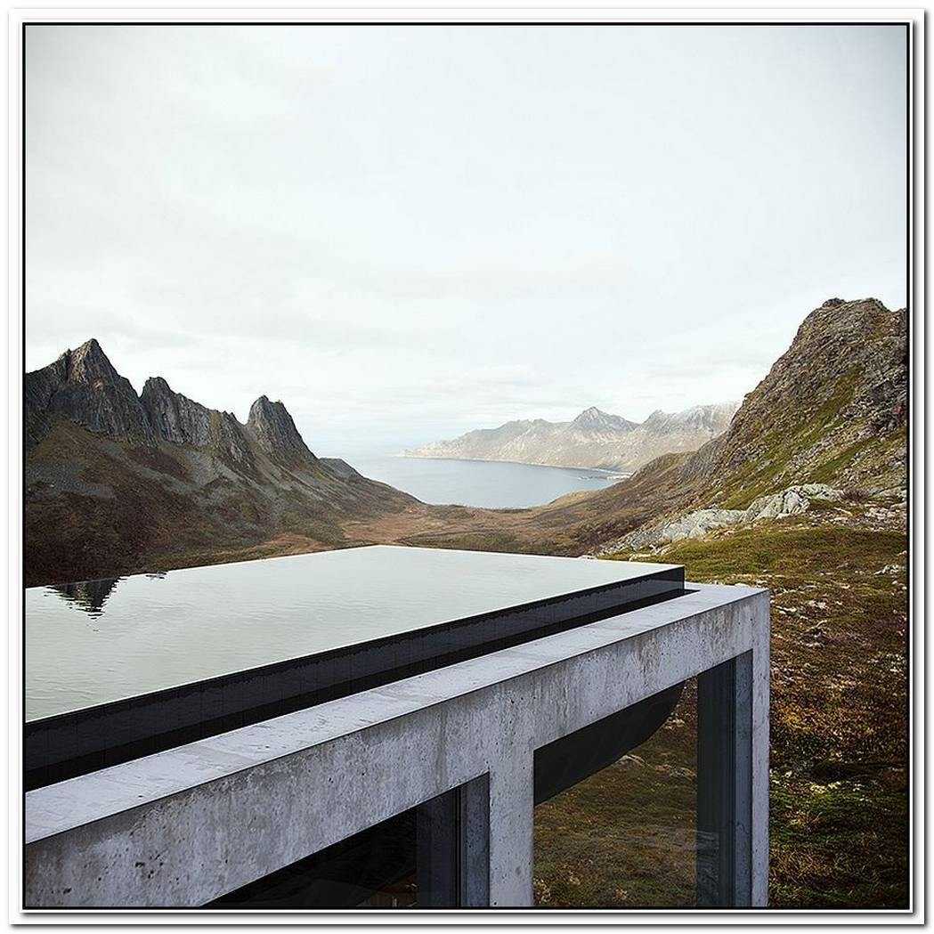 Infinity HouseA Spectacular Window Into Secluded Norwegian Landscape