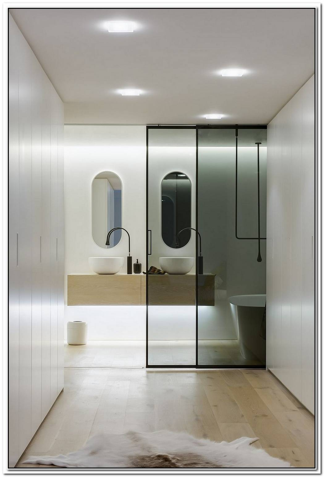 Ingenious Contemporary Bathroom By Minosa DesignRefreshingly Radiant